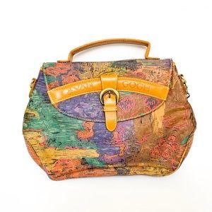 Vintage Vincent Van Gogh strap purse